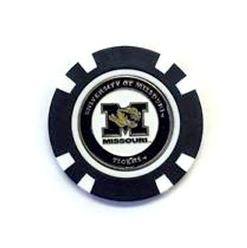 Missouri Tigers Golf Chip with Marker - Bulk