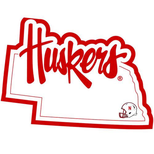 Nebraska Cornhuskers Decal Home State Pride Style