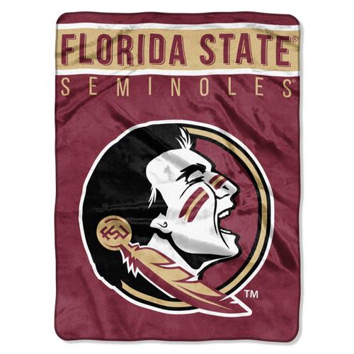Florida State Seminoles Blanket 60x80 Raschel Basic Design