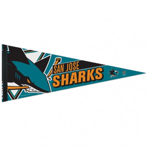 San Jose Sharks Pennant 12x30 Premium Style