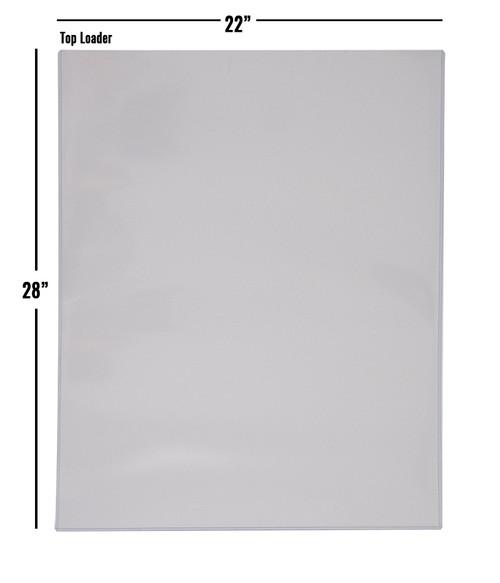 Ultra Pro Top Loader 22x28 (25 per case)