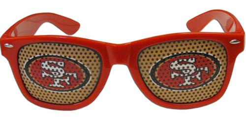 San Francisco 49ers Game Day Beachfarer Sunglasses - Special Order
