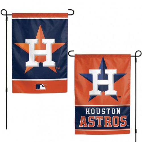 Houston Astros Flag 12x18 Garden Style 2 Sided