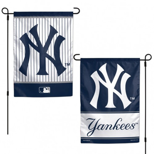 New York Yankees Flag 12x18 Garden Style 2 Sided