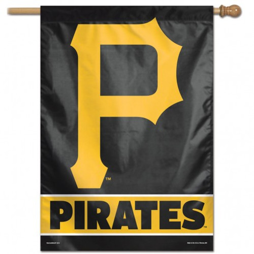 Pittsburgh Pirates Banner 28x40 Vertical - Special Order