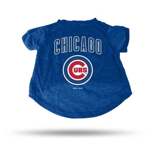 Chicago Cubs Pet Tee Shirt Size XL