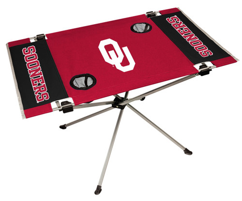 Oklahoma Sooners Table Endzone Style - Special Order