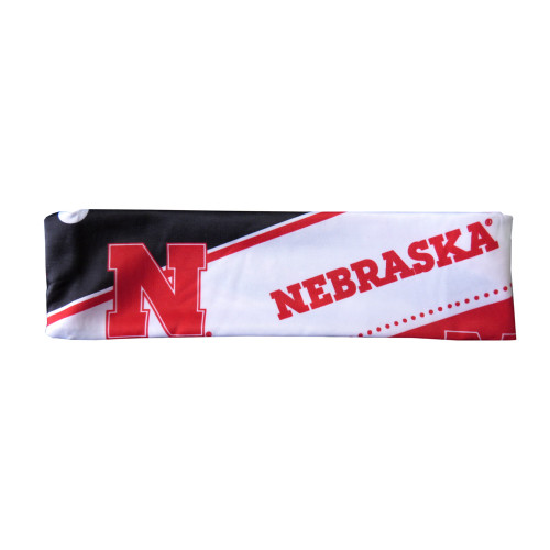 Nebraska Cornhuskers Stretch Patterned Headband - New Logo - Special Order