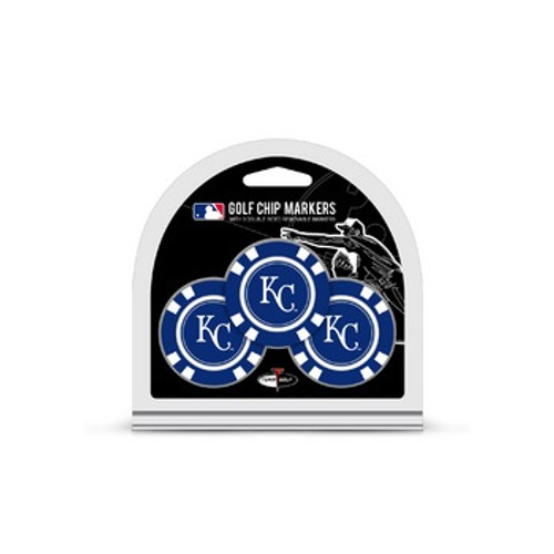 Kansas City Royals Golf Chip with Marker 3 Pack - Special Order
