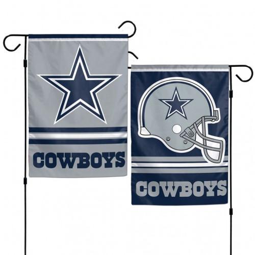 Dallas Cowboys Flag 12x18 Garden Style 2 Sided