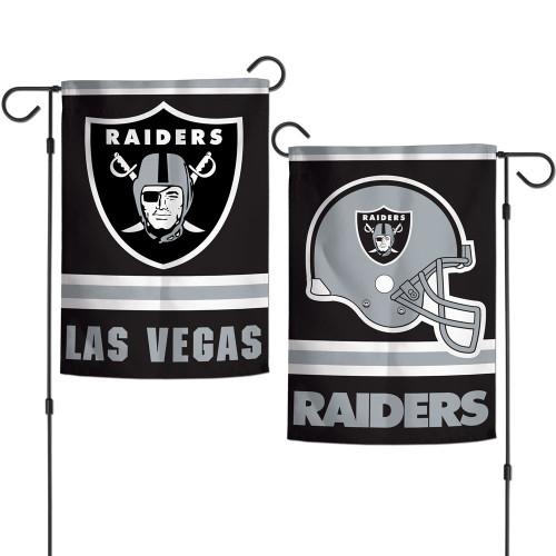 Las Vegas Raiders Flag 12x18 Garden Style 2 Sided