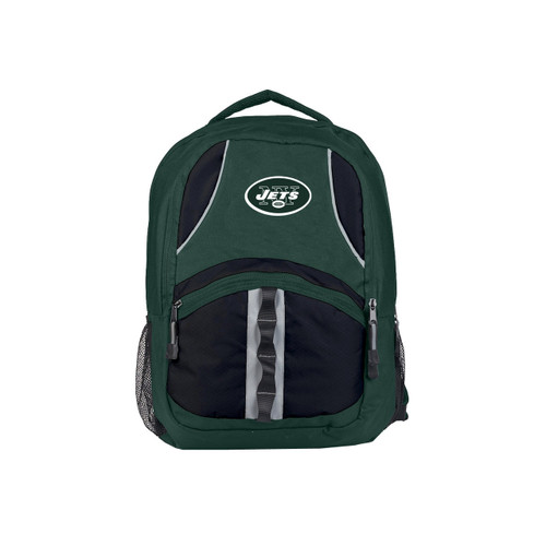 New York Jets Backpack Captain Style Green and Black