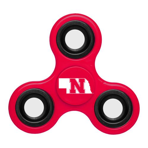 Nebraska Cornhuskers Spinnerz Three Way Diztracto