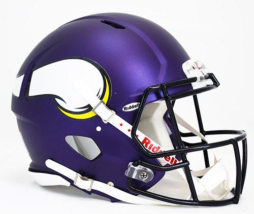 Minnesota Vikings Helmet Riddell Authentic Full Size Speed Style