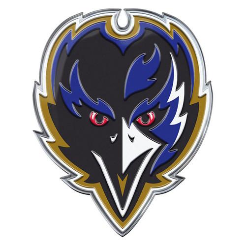Baltimore Ravens Auto Emblem Color Alternate Logo