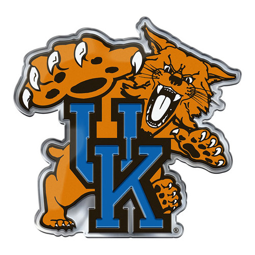 Kentucky Wildcats Auto Emblem Color Alternate Logo
