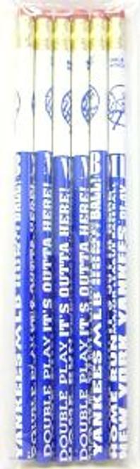 New York Yankees Pencil 6 Pack