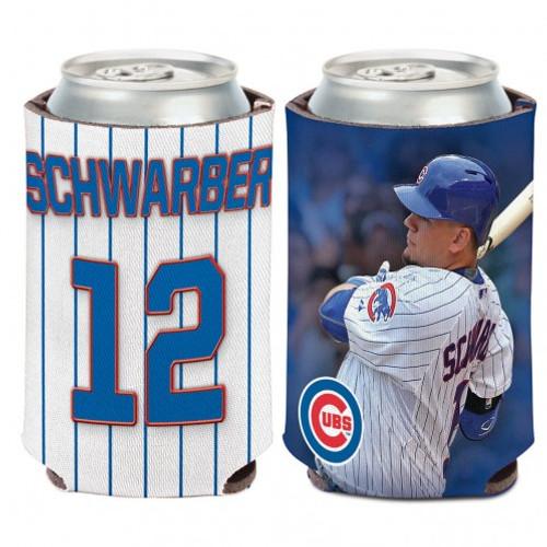 Chicago Cubs Can Cooler Kyle Schwarber Design - Special Order