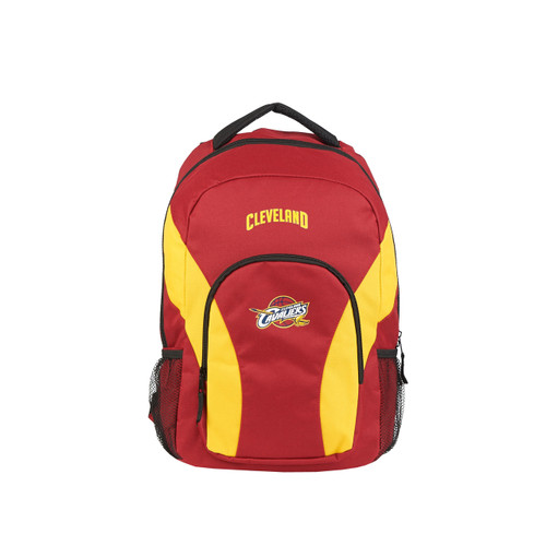Cleveland Cavaliers Backpack Draftday Style Red and Yellow