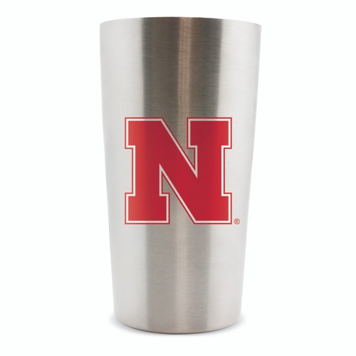 Nebraska Cornhuskers Thermo Cup 14oz Stainless Steel Double Wall