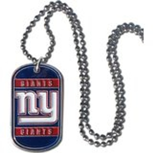 New York Giants Necklace Tag Style