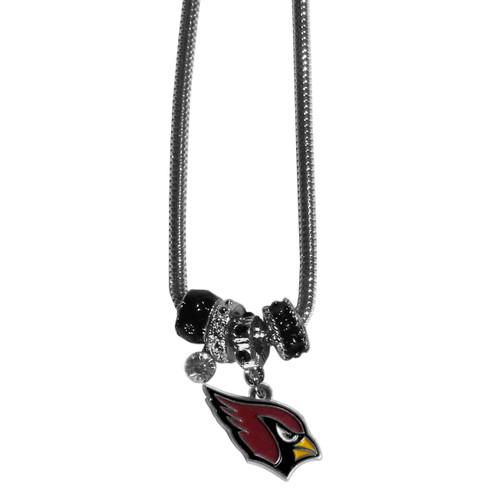 Arizona Cardinals Necklace Euro Bead Style - Special Order
