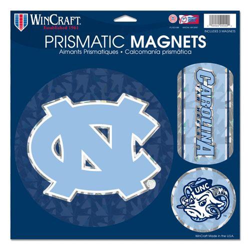 North Carolina Tar Heels Magnets 11x11 Prismatic Sheet