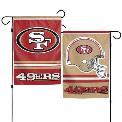San Francisco 49ers Flag 12x18 Garden Style 2 Sided
