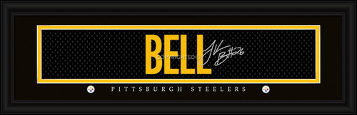 """Pittsburgh Steelers Le'Veon Bell Print - Signature 8""""x24"""""""
