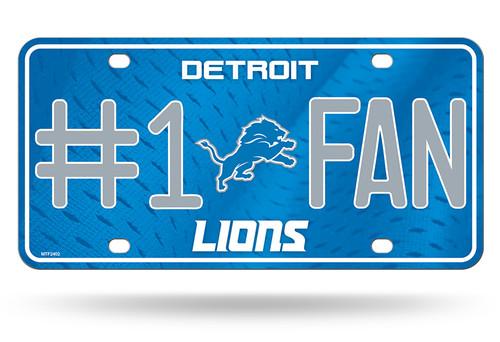 Detroit Lions License Plate #1 Fan