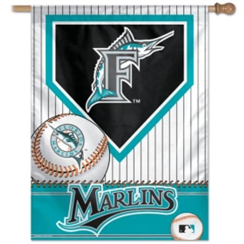 Florida Marlins Banner 27x37 Vertical