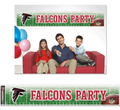 Atlanta Falcons Banner 12x65 Party Style