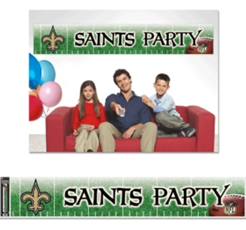 New Orleans Saints Banner 12x65 Party Style