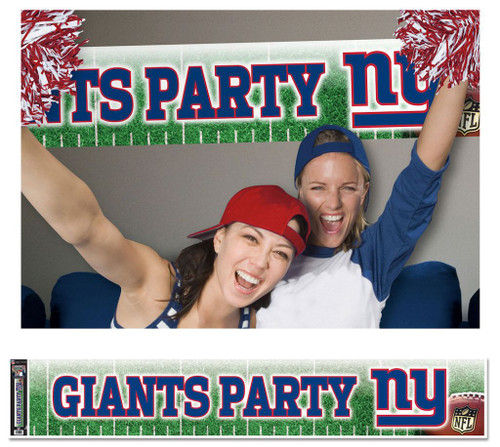 New York Giants Banner 12x65 Party Style