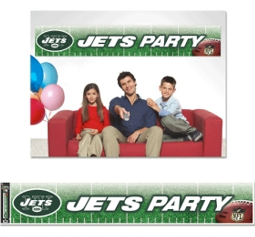 New York Jets Banner 12x65 Party Style