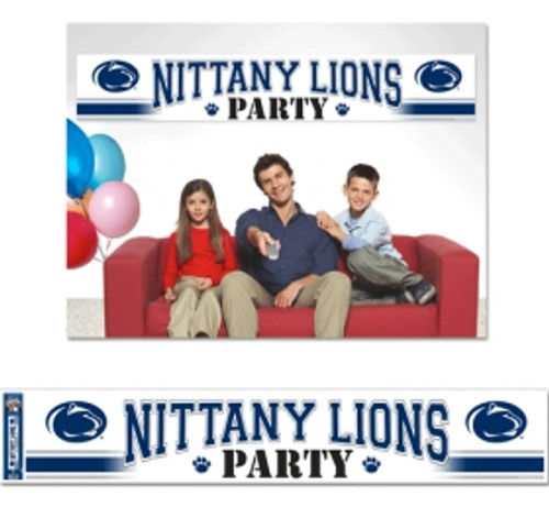 Penn State Nittany Lions Banner 12x65 Party Style