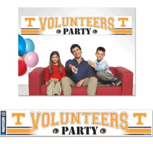 Tennessee Volunteers Banner 12x65 Party Style