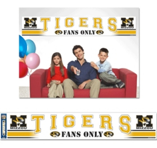 Missouri Tigers Banner 12x65 Party Style