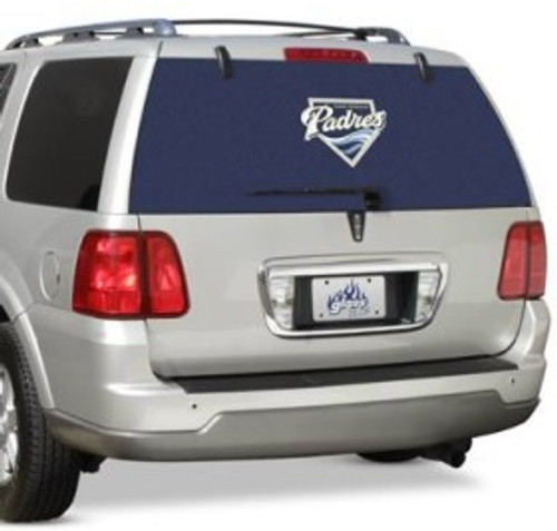San Diego Padres Window Film Rear Special Order