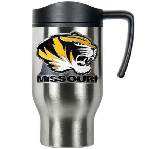 Missouri Tigers Stainless Steel Travel Mug