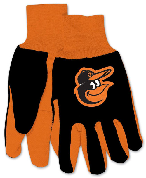 Baltimore Orioles Gloves Two Tone Style Youth Size