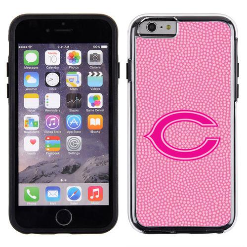 Chicago Bears Phone Case Pink Football Pebble Grain Feel iPhone 6