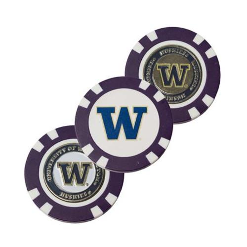Washington Huskies Golf Chip with Marker