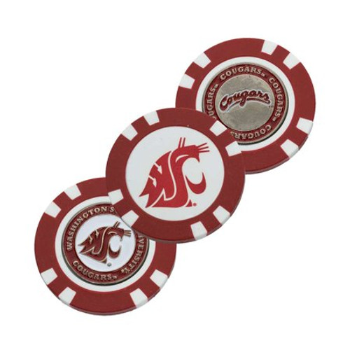 Washington State Cougars Golf Chip with Marker