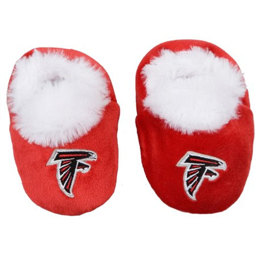 Atlanta Falcons Baby Bootie Slippers - 12pc Case