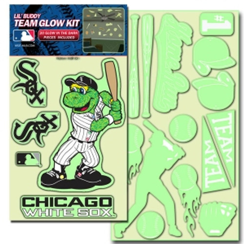 Chicago White Sox Decal Lil Buddy Glow in the Dark Kit
