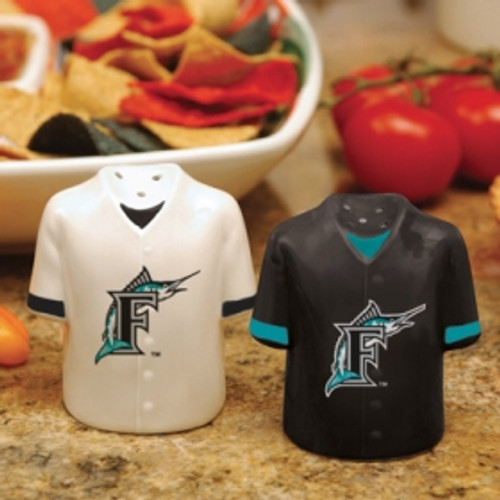 Florida Marlins Salt and Peper Shakers Gameday Jersey