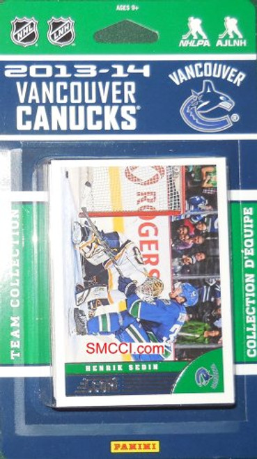 Vancouver Canucks Score Team Set - 2013-14