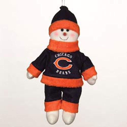 Chicago Bears Snowflake Friends 10 Inch
