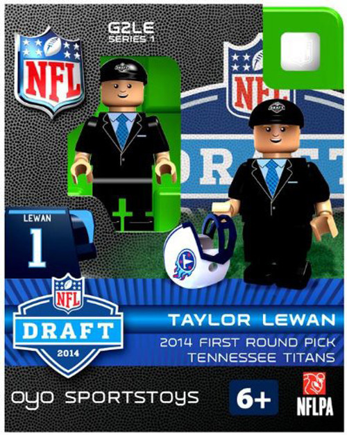 Tennessee Titans Figurine 2014 Draft Pick OYO Sportstoys Taylor Lewan